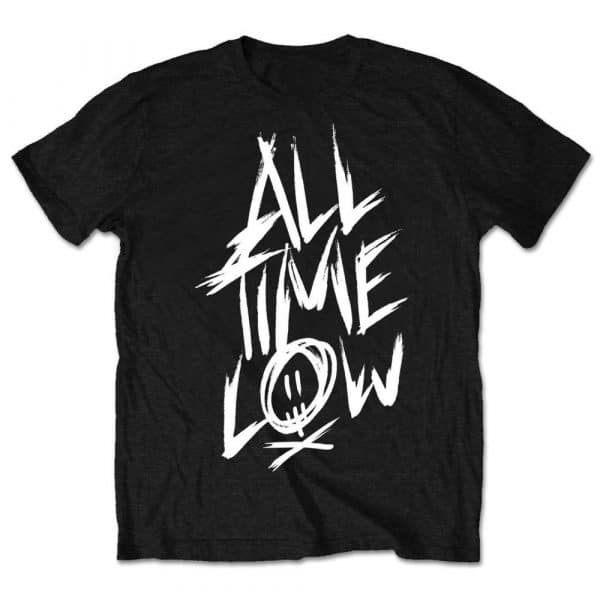 All Time Low Mens T-Shirt: Scratch (Retail Pack) (XX-Large)