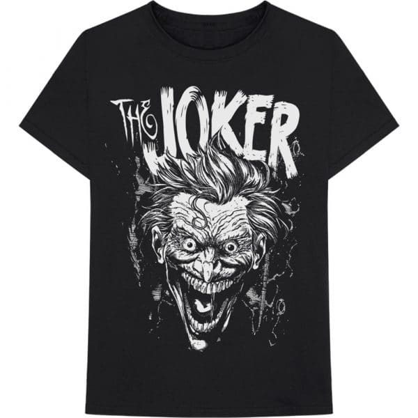 DC Comics Mens T-Shirt: Joker Face (XX-Large)