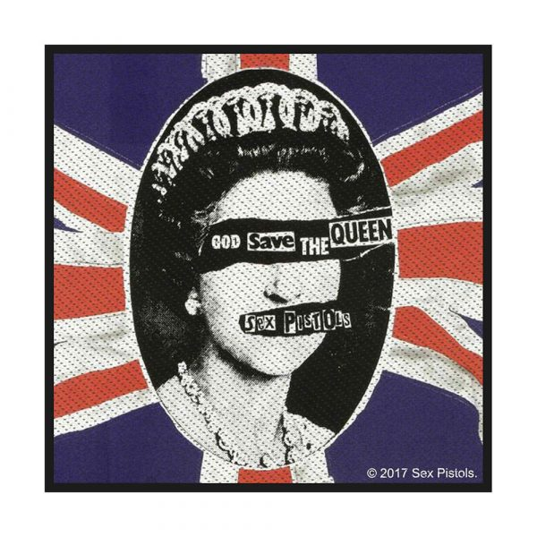 The Sex Pistols Standard Patch: God Save The Queen (Retail Pack)