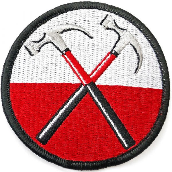 Pink Floyd Standard Patch: The Wall Hammers Circle